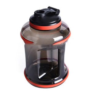Load image into Gallery viewer, New Design 2.5 Liter BPA Free Reusable GYM Fitness Filter Plastic Sports Water Bottles  Jug With Handle