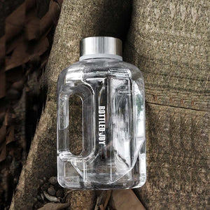 Load image into Gallery viewer, 75oz Clear Sports Drinking Water Bottle
