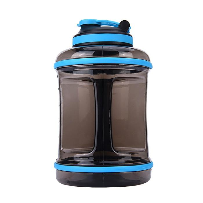 New Design 2.5 Liter BPA Free Reusable GYM Fitness Filter Plastic Sports Water Bottles  Jug With Handle