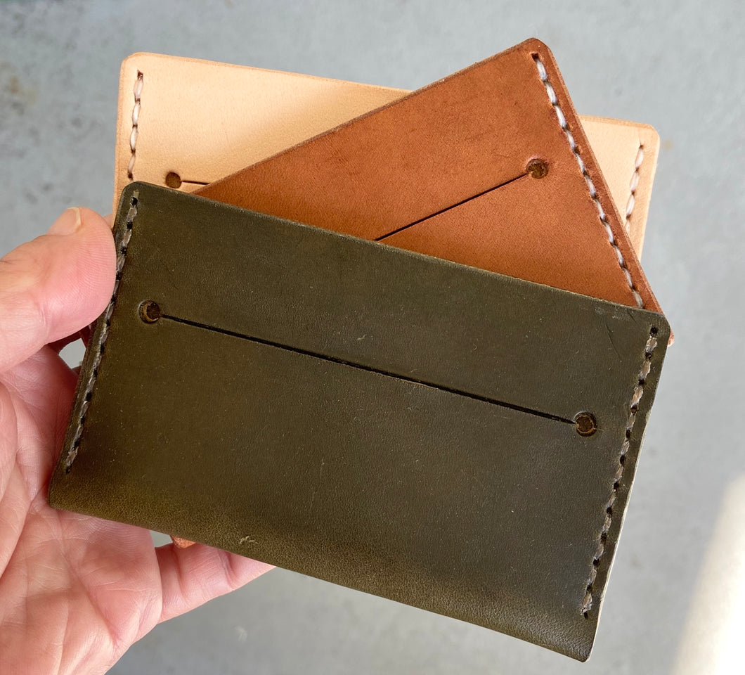 Fall Collection Leather Minimalist Wallet | Cope & Co