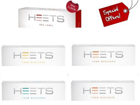 IQOS Heatsticks 5 HEETS Cartons Offer.