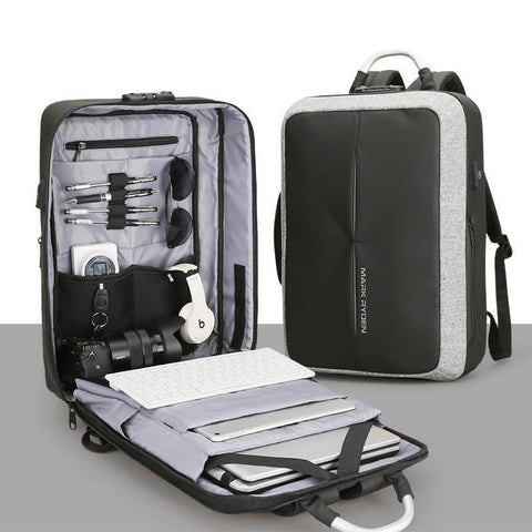 PRO DJ GEAR BACKPACK WITH COMBINATION LOCK & USB
