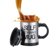 Image of Stainless Steel Self Stirring Mug