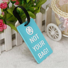 Suitcase Luggage Tag Identifier