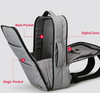 Image of Waterproof USB Charging Anti-Theft Backpack