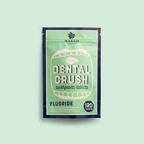 fluoride-based toothpaste tablets