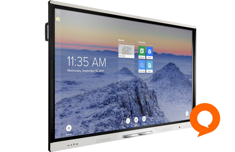 "SMART Board MX275 interactive display with iQ 75"" 4K (SBID-MX275)"