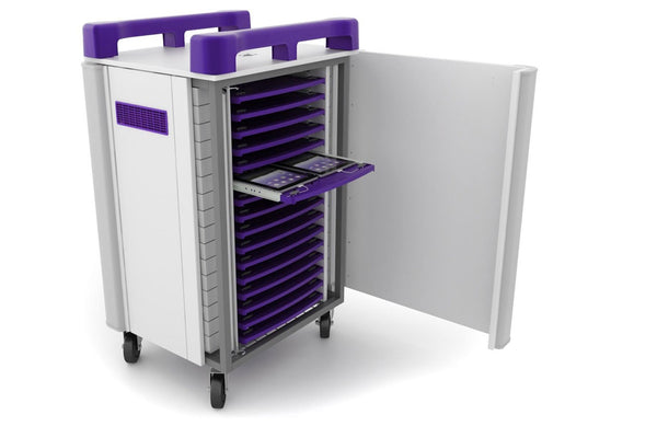 TabCabby 32H Tablet Trolley Charge, Store and Sync 32 Horizontal