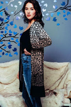 Load image into Gallery viewer, Chel's Leopard Open Cardigan