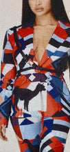 Load image into Gallery viewer, Chel's Abstract Print Pantsuit