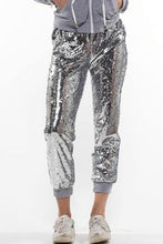Load image into Gallery viewer, Sequin Jogger Pants