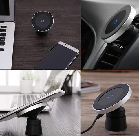 wireless car charger magnet mount air vent use types