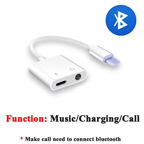 2 in 1 Earphone Audio Adapter