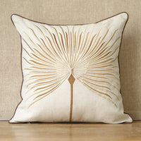 High fashion dandelion pillow rustic embroidery cotton linen pillow cases home decoration sofa Cushion covers cushion sets