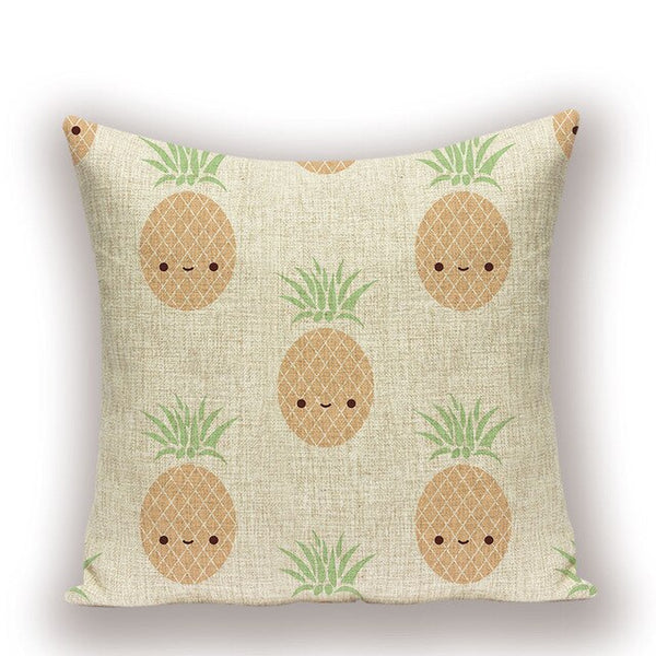 Rustic Style Cactus Cushion Cover Cartoon Animal Plant Pillow case 45 * 45 Cat Pillows Cover Custom High Quality Pillow Cases