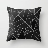 Brief Marble Geometric Sofa Decorative Cushion Cover Pillow Pillowcase Polyester 45*45 Throw Pillow Home Decor Pillowcover 40507