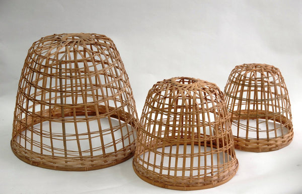 Bamboo Cloche - Set of 2