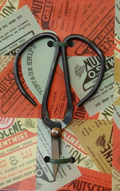 Rustic Flower Scissors
