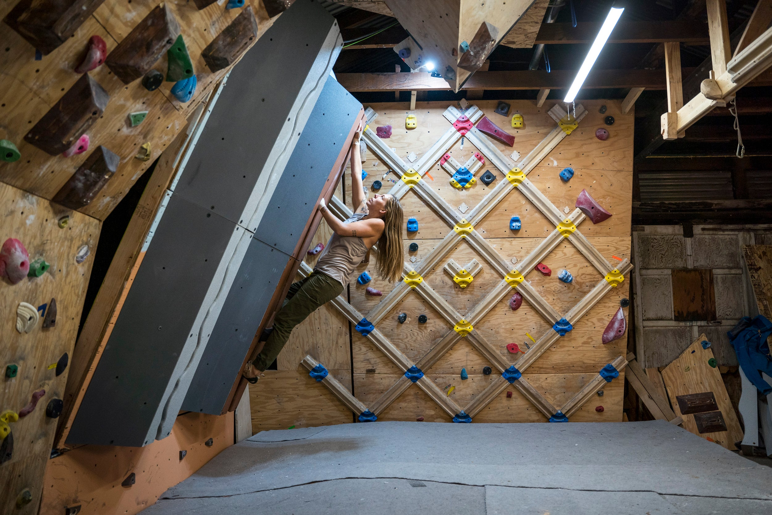 The Fortress Home Climbing Wall