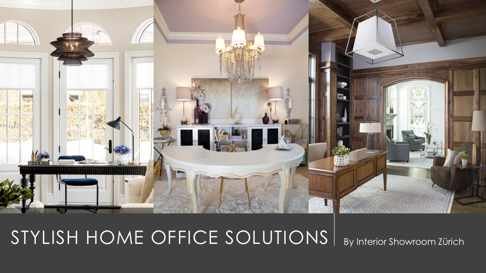Stylish home office solutions