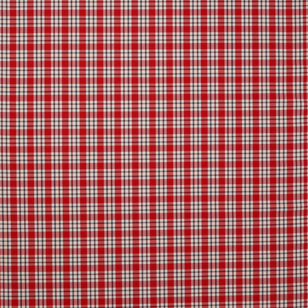 Talla Check - Red/Navy