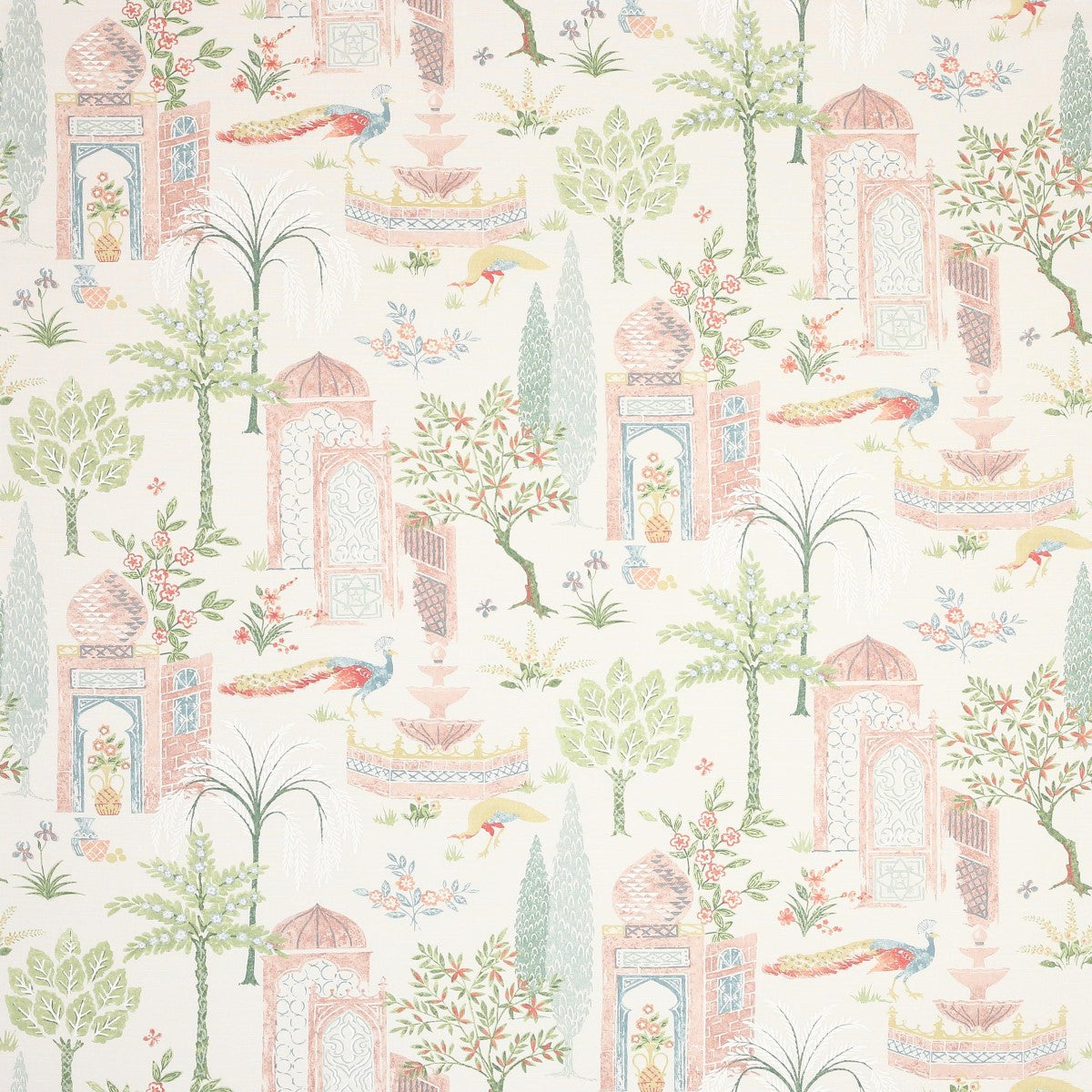Persian Grove - Pink/Grey