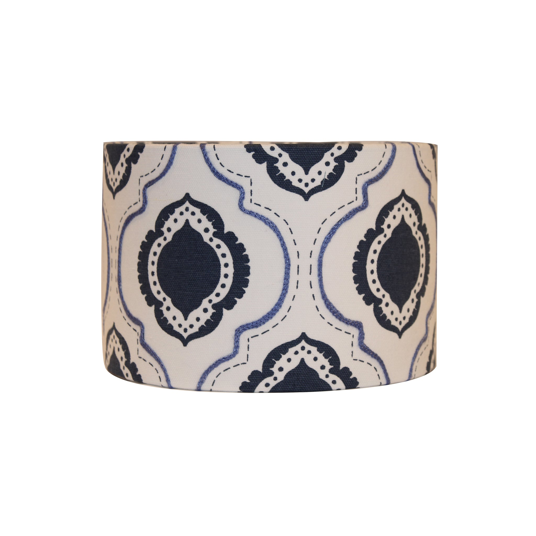 Persian blue pattern lampshade