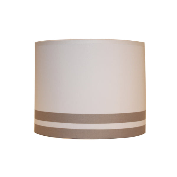 Grey lines lampshade
