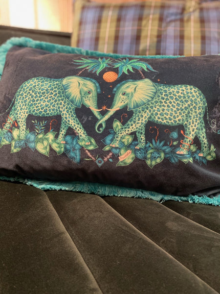 Elephant Bolster Cushion