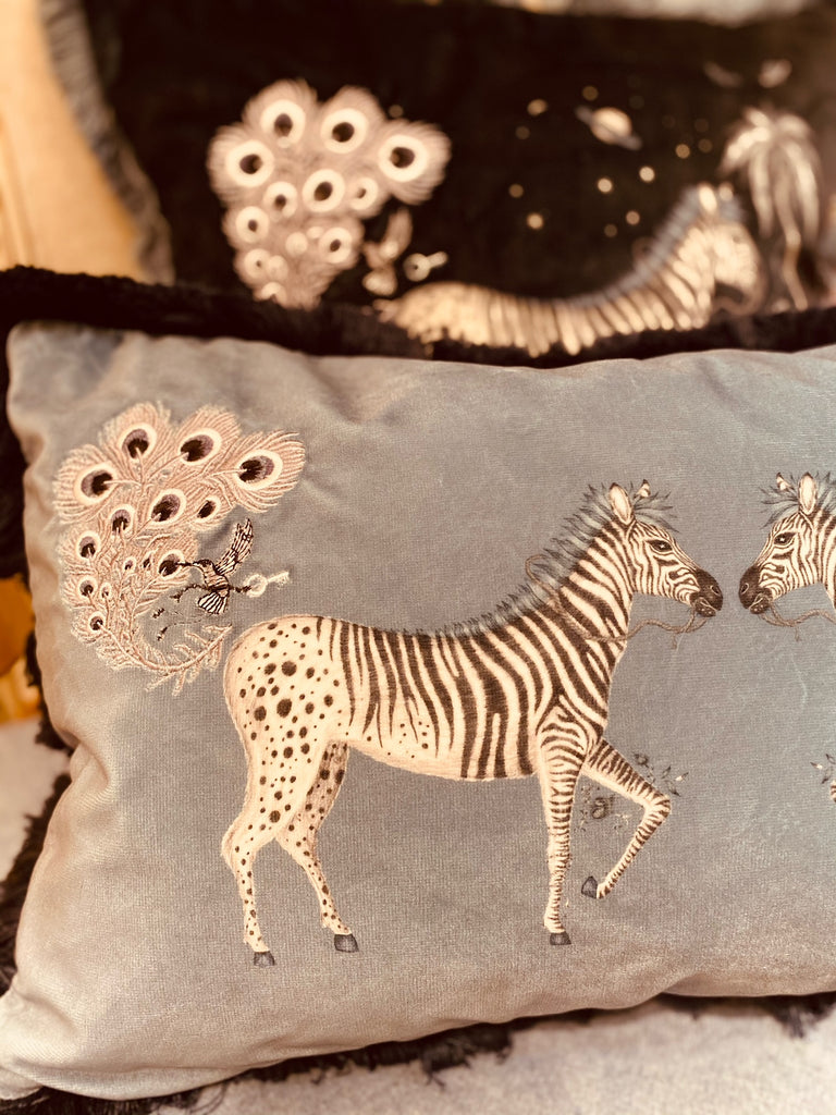 Zebra Bolster Cushion