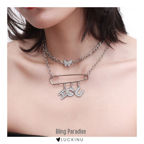 """Bling Paradise"" Choker Necklace"