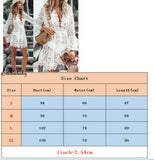 New Summer Women Bikini Cover Up Floral Lace Hollow Crochet Swimsuit Cover-Ups Bathing Suit Beachwear Tunic Beach Dress