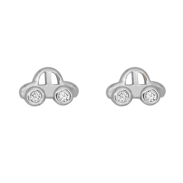 """On the way"" Sterling Silver Car Earring"