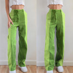 Load image into Gallery viewer, Women Patchwork Corduroy y2k Pant New Style Chic