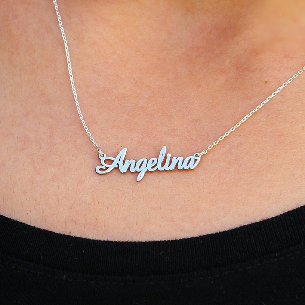 Custom Name Necklace Personalized Jewelry