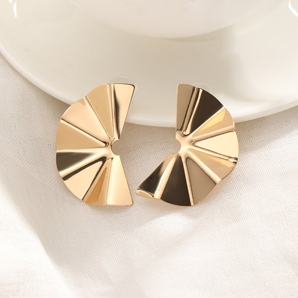 """Geometric Beauty"" Designed Graphic Earring-Jewelry-luckinu"