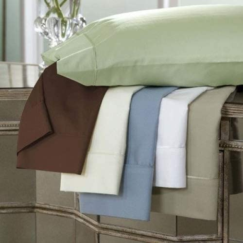 DreamFit 3-Degree 300 Thread Count Select World Class Cotton Pillowcase Set, Standard, Soft Linen
