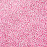 Home Brilliant Decorative Lined Linen Euro Pillow Cover Cushion Case for Couch, 20x20(50cm), Baby Pink