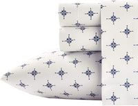 Poppy & Fritz Compass Cotton Sheet Set, Full