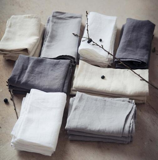 100% Linen Right-angle Flat Sheet Luxurious Wash Flax Single & Double Sleep Sheet Hygroscopic Breathable Flat Sheet