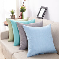 Cushion Cover 50x50cm Ouneed Cushion Cover for Sofa 50x50cm Simple Modern Linen Solid Pillowcase a803