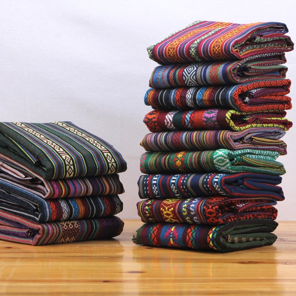 (50 cm/lot) vintage fabric for sewing linen cotton fabrics quilting for patchwork DIY clothing cloth telas textile handicraft