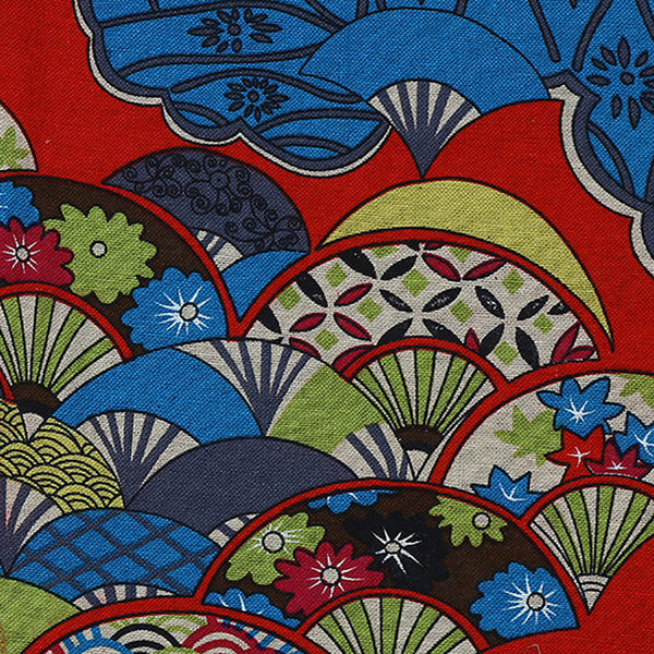Lychee Life Japanese Style Linen Fabric 50x150cm Vintage Fabrics for Table Cloth DIY Sewing Cloth for Bags Clothes