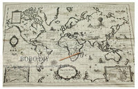 world map vintage cotton linen fabric make bag pillow curtain ,145cm*64cm,free shipping B2013178