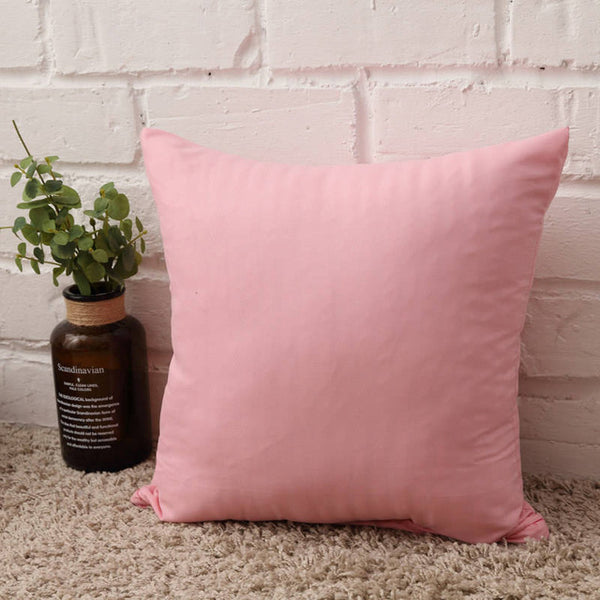 Hot Solid Hot Pillowcase Simple Plain Decorative Cushion Cover Home Decoration Products Sofa Car Chair Pillow Case Company Gifts