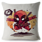 Cute Cartoon Star Wars Marvel The Avengers Superman Cushion Cover Decor Pillow Case Anime Avenger Pillowcase for Sofa 45x45cm