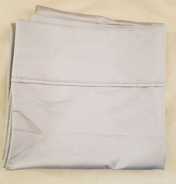 1 Pair Sommerset Collection KING Pillowcases 900 TC Gray