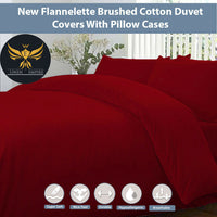 100% Brushed Cotton Thermal Flannelette Fitted Or Flat Bed Sheets. Pillow Cases