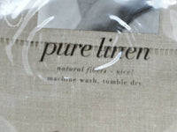 Pure Linen Standard Pillow Cases  Natural AREA Design by Anki Spets NEW!