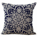 Square Pillow Case Throw Cotton Linen Pillow Cushion Cover Valentine's Day Gift